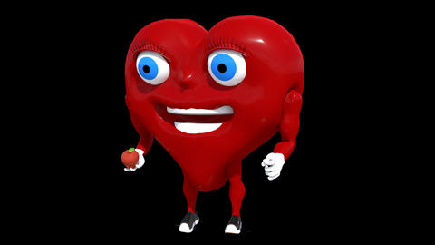 Healthy Heart Catching GIF