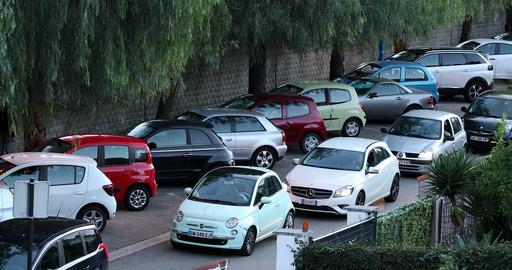 Cars Stuck In Traffic Jam GIF