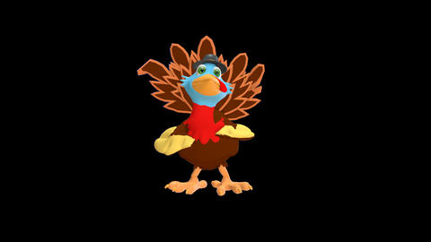 Animated Turkey Dance Animation
