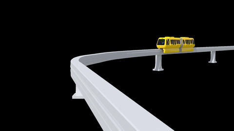 Monorail Train GIF