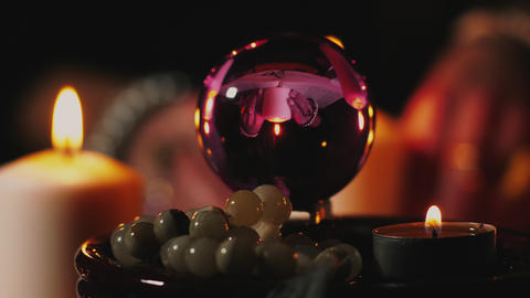Fortune teller's crystal ball Live Action