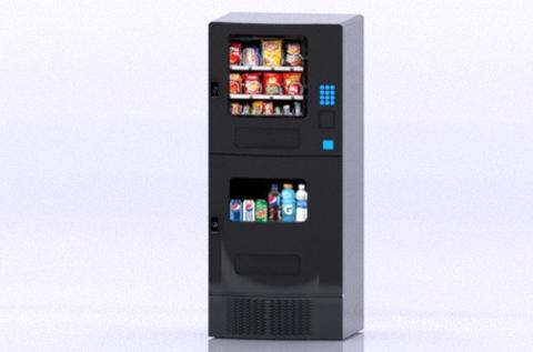 Food Vending Machine Modelo 3D