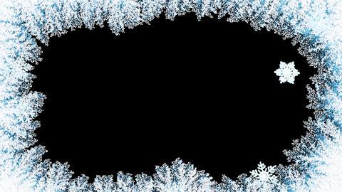 Christmas Snow Frame Animation