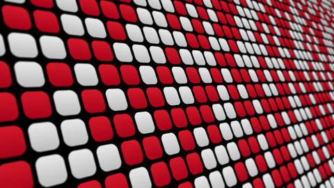 White and red rectangles animated background Animation