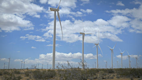 Wind Power California Footage