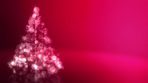 Glowing Christmas Tree Loopable Animation