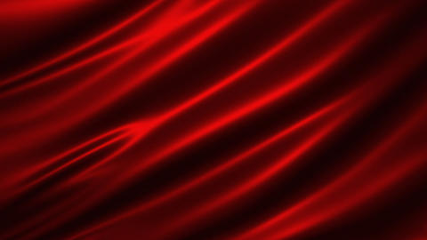 Loopable Red Cloth Background Animation
