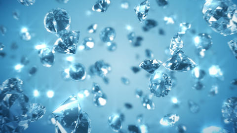 Loopable Diamonds Background Animation