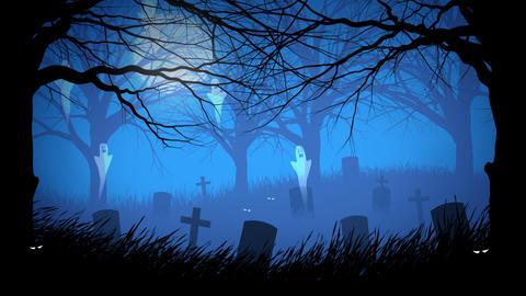 Spooky Halloween Background Animation
