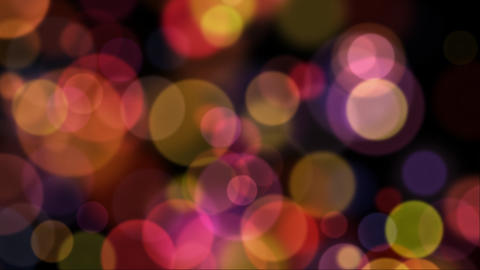 Soft Glowing Bokeh Background Animation