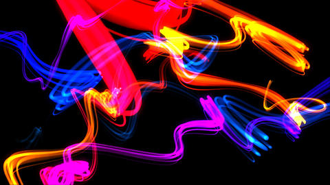 Light Lines Background Looping Animation