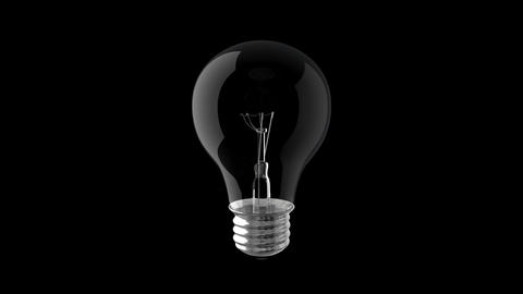Incandescent Light Bulb Animation