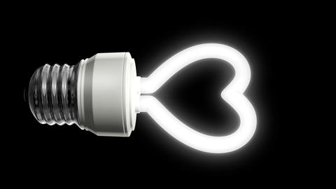 Compact Fluorescent Lightbulb Animation