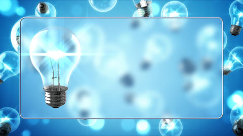 Bright Ideas Background Animation