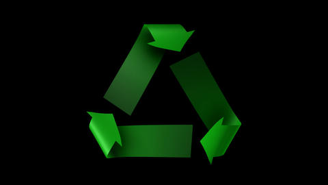 Keyable Recycle Symbol Animation