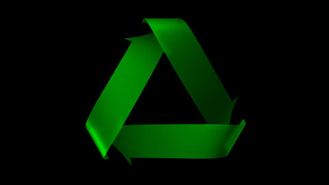 Keyable Recycle Symbol Animation