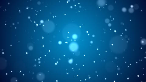 Loopable Stylized Snow Background Animation