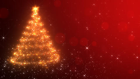 Loopable Christmas Background Animation