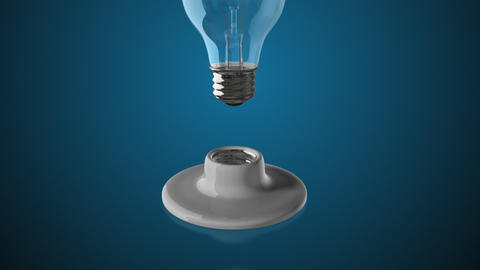 Light Bulb Change Background Animation