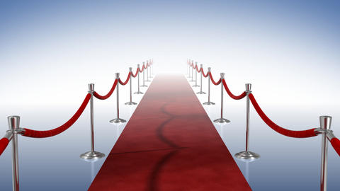 Loopable Red Carpet Background Animation