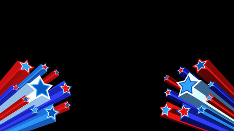 4th of July Loopable and Keyable Mortice Animation