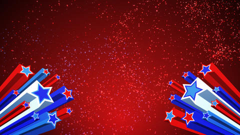4th of July Loopable Background Animation