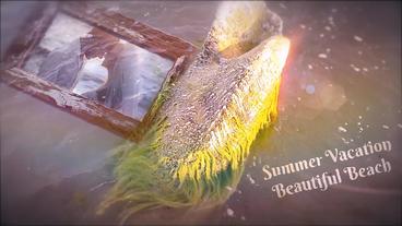 Beach Memories Slide After Effects Template