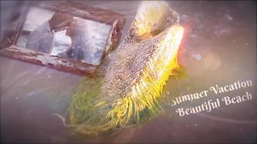 Beach Memories Slide After Effects Projekt