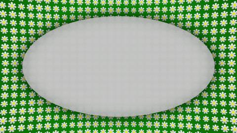 Flowers frame border screen animated background Animation
