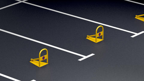 Private parking space Animation