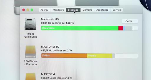 MacOS Mojave Running On The Apple iMac Retina 5K 27 Inch GIF