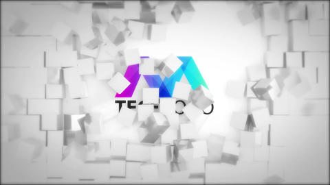 Dynamic Cube Logo Reveals After Effects Template