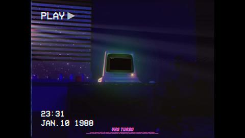 Retro Computer Logo Premiere Proテンプレート