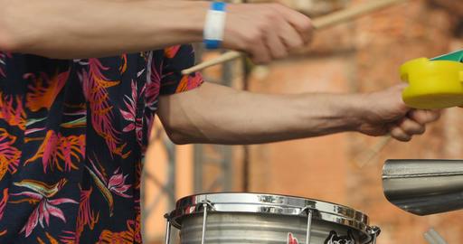 Drummer hand Live Action