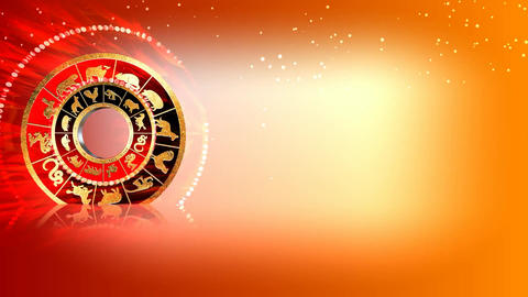 318 3d animated horoscope template for all zodiac symbols Animation