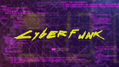 Cyber Hack Glitch Logo After Effects Template