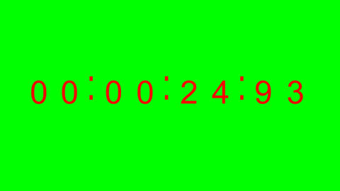 338 3d animated digital clock timer Animation