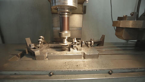 Cnc Turning Machine In Metal Machining Industry Live Action