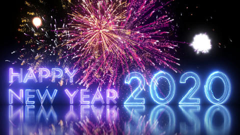 Happy New Year Wishes 2020 Animation
