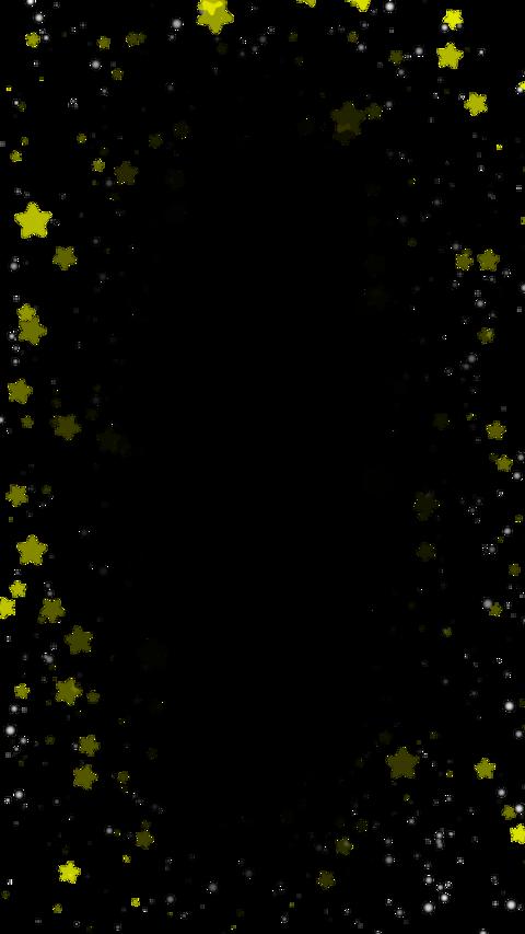 Star&sphere particul(縦型 アルファ付き) CG動画