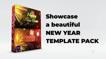New Year Pack After Effects Template