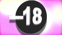 - 18 (Under Eighteen Sign) Footage