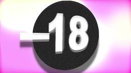 - 18 (Under Eighteen Sign) Footage