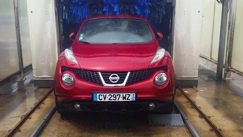 Car In Automatic Car Wash Footage