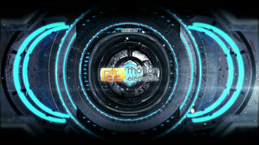 Sci Fi Gate Logo (all pesets) After Effects Template