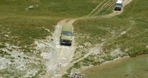 4x4, Offroad, Western Alps, Italy ビデオ