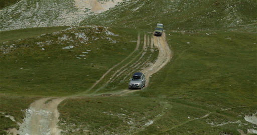 4x4, Offroad, Western Alps, Italy ビデオ