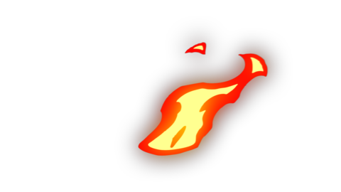 2D Fire Element Animation
