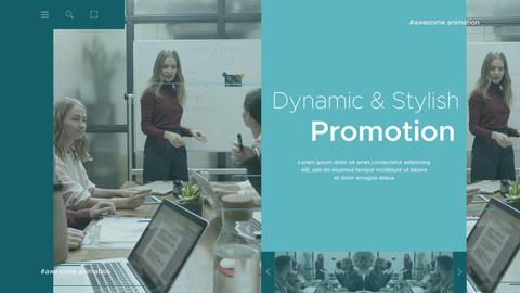 Modern Corporate Intro Premiere Pro Template