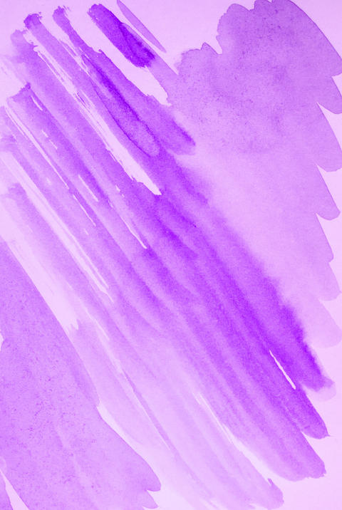 Lilac abstract watercolor background, diagonal sloping lines and strokes